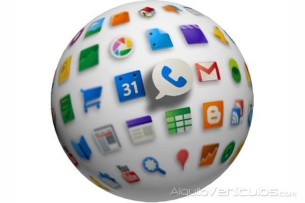 Viajar a golpe de aplicación móvil
