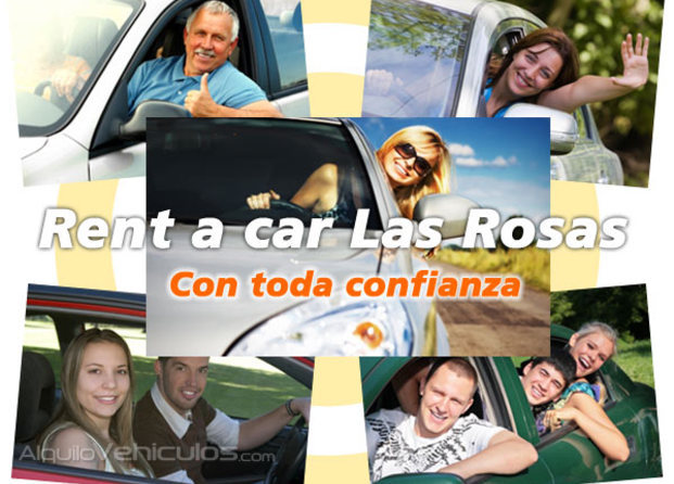 Rent a Car Las Rosas Logo