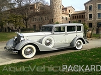 Packard Super Sedan 1934